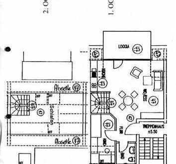 Gepflegte 2,5-Zimmer-Maisonette-Wohnung mit Balkon in Ludwigsburg (Kreis)