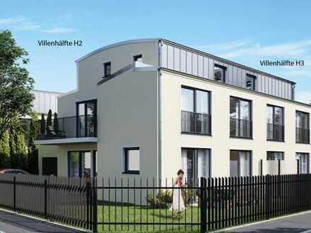 Edle Villenhälfte H3 in individueller Architektur   Provisionsfrei