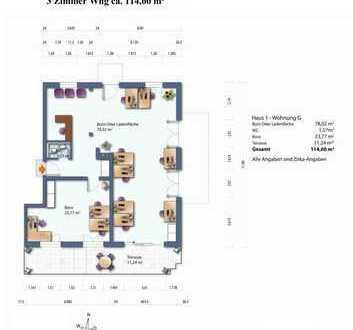 Haus 1 Whg. G (Gewerblich) Erdgeschoss Wohnung