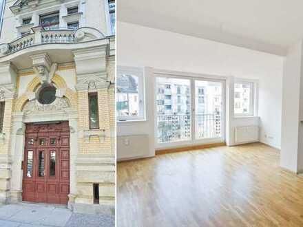 Helle Dachgeschosswohnung, Parkett, Balkon, inkl. Einbauküche, ab 01.11.2019 verfügbar