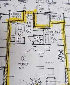 Exklusive, geräumige und gepflegte 1-Zimmer-Wohnung mit Balkon und EBK und Kammer in Schwabmünchen