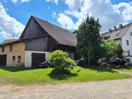 Bauernhof mit Wohnhaus und ausbaufähiger Scheune