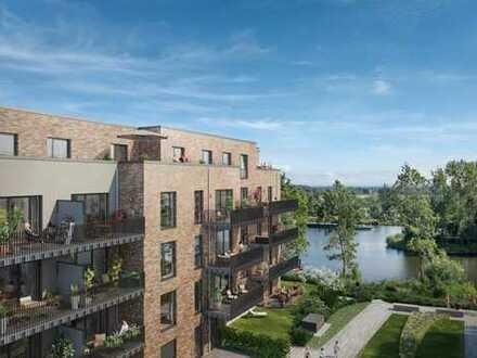 Großer Balkon und Wasserblick - Kapitalanlage oder Eigennutzung - 3-Zimmer-Wohnung an der WATERKANT