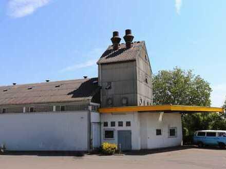 Gewerbehalle mit zusätzlichen Lagerflächen in Mainz-Marienborn