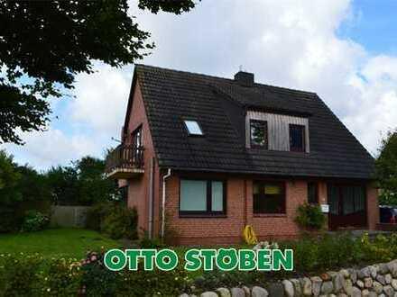 Inklusivmiete! Hockensbüll bei Husum! EFH mit Einliegerwohnung zur Miete! OTTO STÖBEN GmbH!