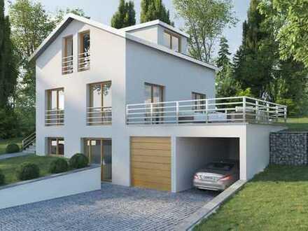 Neubau: freistehendes KfW 55 EFH mit großem Grundstück in Top-Lage auf der Margarethenhöhe