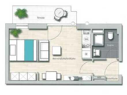Appartement in zentraler Lage in der Amperlounge