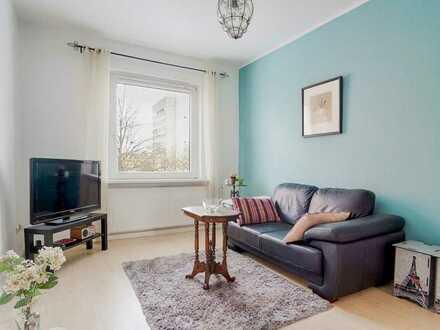 Gepflegte 2-Zimmer-Wohnung mit Einbauküche in zentraler aber ruhiger Lage