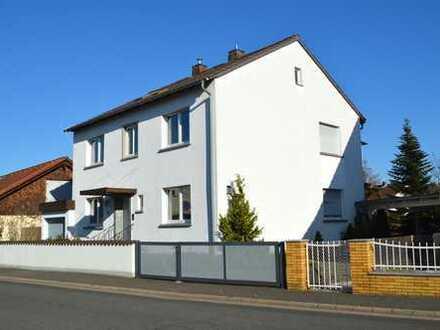 freistehendes, gepflegtes 2-Familienhaus mit Erweiterungsmöglichkeiten in Niedernberg