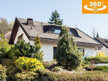 Freistehendes Architektenhaus mit Fernblick in bevorzugter Lage von Gelnhausen