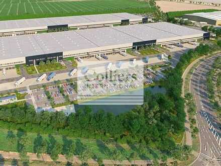 BAUSTART 2020 | Logistikneubau für Automotive & Kontraktlogistik | 5.000 m² - 100.000 m²