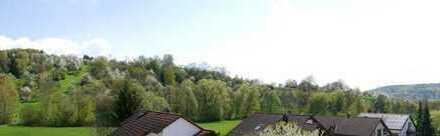 Neuwertige 3,5-Zimmer-Dachgeschoss-Wohnung in Feldrand Lage
