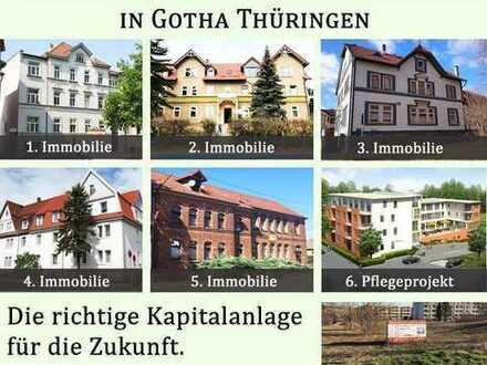 Investorenpaket mit 5 MFH einem Pflegeprojekt und Bauland in Thüringen
