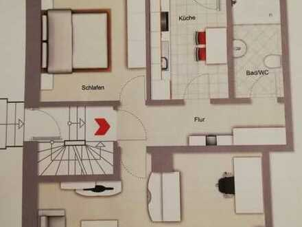 Zum 1.7. Oder 1.8.: 2 Zimmer Wohnung in Achern Zentrum zu vermieten