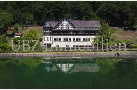 Forellenhof Kleinkahl: Freistehendes Anwesen mit Wohnhaus, Gastrobetrieb, Pferdekoppel & Fischzucht