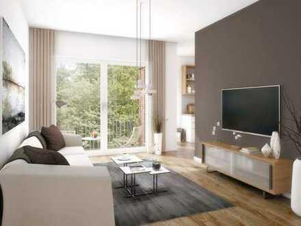 Moderne 2-Zi.-Wohnung mit optimalem Grundriss und Balkon im Grünen und schnell in der City!