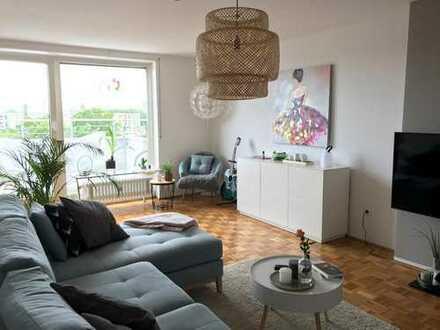 Stilvolle 2-Zimmer-Wohnung mit Balkon und EBK in Mannheim