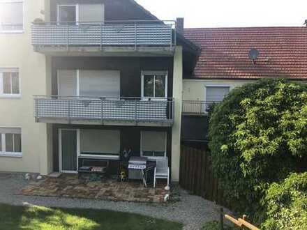 freundliche, gepflegte 3-Zi-Wohnung mit Balkon in Adelzhausen