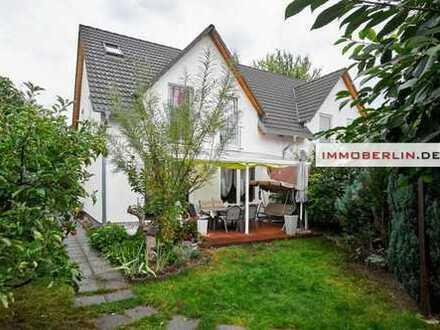 IMMOBERLIN: Perfekte Doppelhaushälfte mit Südgarten