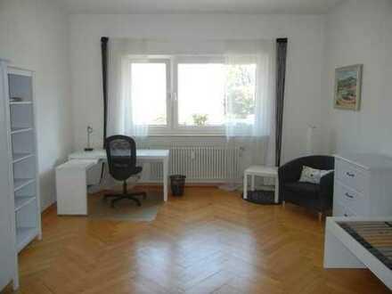Helles möbliertes Zimmer in 4er WG Luisenpark Oststadt ab 1. Apr. 2020 frei