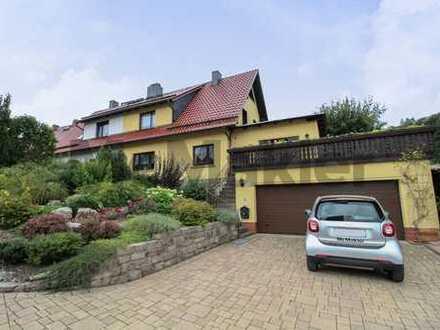Ihr Ruhepol in Ilmenau: Modernisierte DHH mit Sauna, Garten, Wintergarten und Photovoltaikanlage