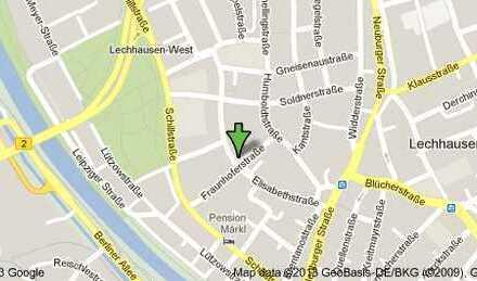 Lechhausen! Erstbezug nach DG-Ausbau! 1 ZWKB! Loggia! ca. 37,00 m²! 395,-€ kalt! Top Aussicht!