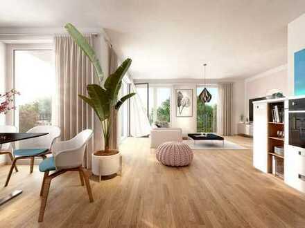 Imposante 4-Zi.-Wohnung mit Südbalkon und 2 Bädern in 1A-Lage