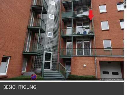 SUSANNE BEYER BIETET AN: Eckernförde - Nette und seniorengerechte 2 Zimmer Wohnung