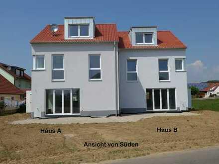 Neubau - großzügige Doppelhaushälfte mit gehobener Ausstattung