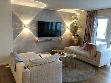 Provisionsfreie 2-Zimmer-Luxus-Wohnung mit Balkon und Tiefgaragenstellplatz