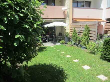 Tolle 3-Zimmerwohnung mit eigenem Garten und Terrasse zum Entspannen