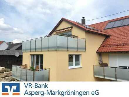 Junge, attraktive Dachgeschosswohnung sucht Bewohner! - 4-Zi.-ETW mit Dachterrasse