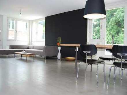 Urlaubsstimmung in exklusiver Penthousewohnung in Heidelberg, Schlierbach