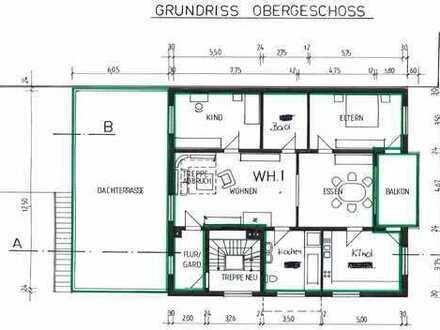 4 Zimmer Wohnung mit sehr großer Terrasse