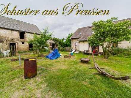 Schuster aus Preussen - Ideal für Tierhaltung bei Berlin - Haus und Hof mit insgesamt 44.571 m² F...