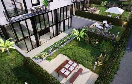 PROVISIONSFREI! Wohnung E1, ca. 129,00 qm / Erdgeschoss & Terrassengeschoss + Garten