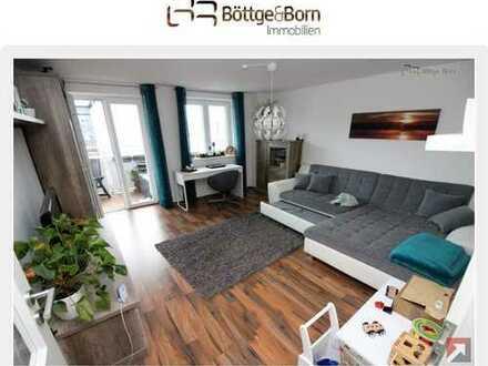 Laminat, Fußbodenheizung, Balkon, Bad mit Wa&Du, Garage!