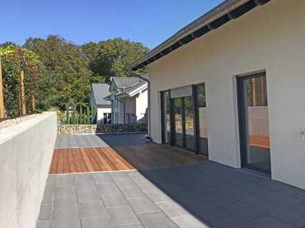 5989 - Neubau: Doppelhaushälfte im familienfreundlichen Umfeld in Mutschelbach zu vermieten!