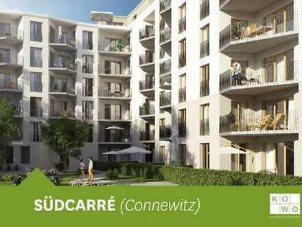EXKLUSIVER NEUBAU IN CONNEWITZ: 3-Zimmerwohnung im 1. Obergeschoss mit Balkon und Gäste-WC