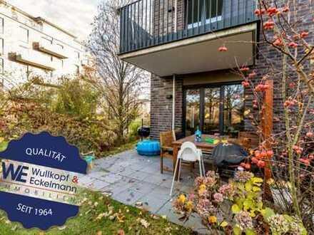 Familientauglich: 5-Zimmer-Gartenwohnung in den Othmarscher Höfen!