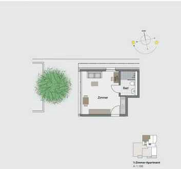Ein Wohn-Appartement mit dem PLUS für mehr.