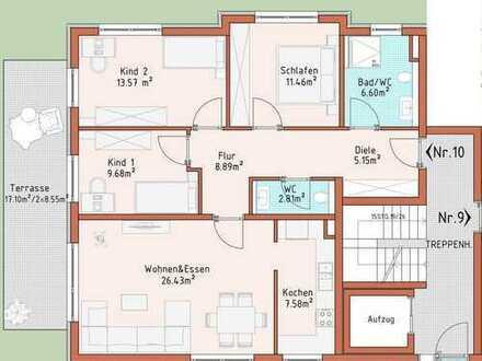 Neubauprojekt Harthausen - Haus 2 - Wohnung 10