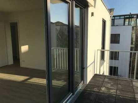 GUTER START IN 2020 - Neubauwohnung im 2. OG mit Fahrstuhl, EBK, Balkon, Fußbodenheizung...
