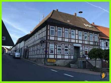 ⭐Mehrfamilienhaus mit 4 Wohnungen und Ladengeschäft in Bodenburg