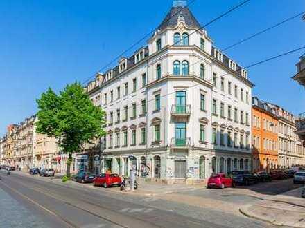 für Studenten...... ideale WG 3-Raum-Wohnung im Szeneviertel Neustadt