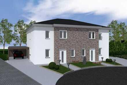Wohnen in bester Lage von Lotte! Neubau von 5 modernen Doppelhäusern in KfW-55-Standard