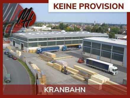 PROVISIONSFREI! 50 TO KRANBAHN! Lager-/Produktionsflächen (10.000 qm) & Büroflächen zu vermieten