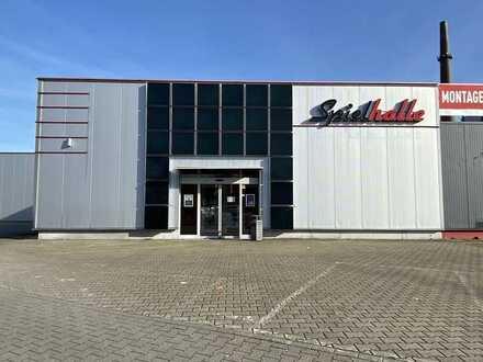 Modernisierte Verkaufsfläche im Fachmarktzentrum in Gelsenkirchen-Schalke