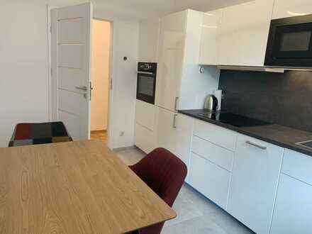 Hochwertig renovierte moderne mit EK, 1-Zi. Wohnung