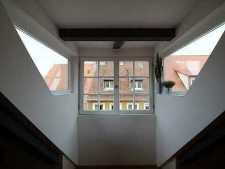 (Teil-) Möblierte Maisonette in Nürnberger Altstadt / (furnished) maisonette in the city center
